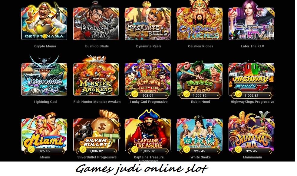 Games judi online slot